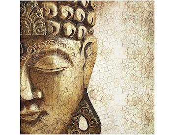 Cuadro Buda de cristal