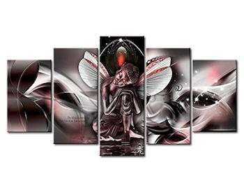 Cuadro de Buda abstracto