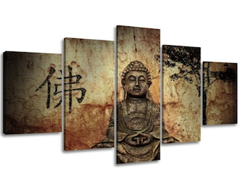 Cuadro de tela Buda