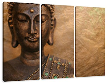 Cuadro en lienzo Buda
