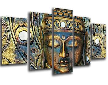 Cuadro retro de Buda