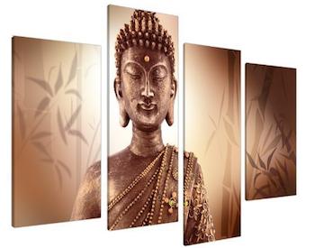 Lienzo Buda grande