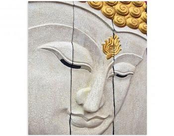 Fotoimpresión lienzo Buda