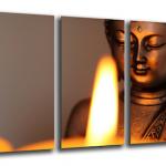 Lienzo fotográfico de Buda