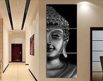 Pintura cara de Buda